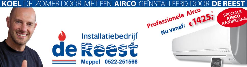 Installatie bedrijf De Reest B.V. Meppel